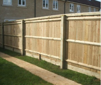 1.8m Morticed Closeboard per linear meter