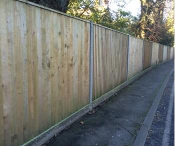 1.8m Concrete Closeboard per linear meter