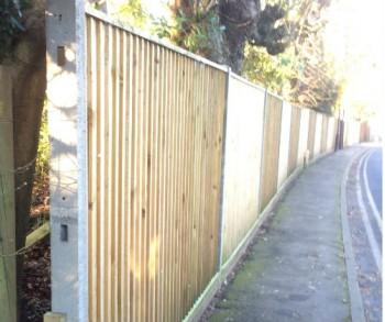 1.5m Concrete Closeboard per linear meter