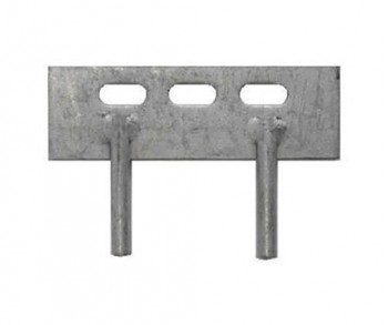 2 prong gravel board cleat 6