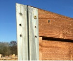 2.4m 54mm x 51mm DURAPOST Galvanised