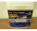 90mm Hex Head Screws (250 per Bucket)