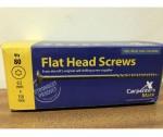 150mm Flat Head Screw Carpenters Mate 80