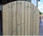 Kennet gate 1.800h - 1.95h curvedx .900w