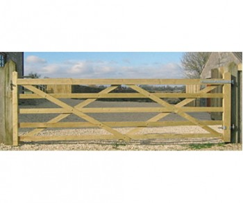 10 ft wide Universal Forester gate TSW
