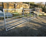 16'0 STANDARD 7 BAR METAL GATE GALV