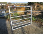 4'0 STANDARD 7 BAR METAL GATE GALV