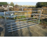 8'0 STANDARD 7 BAR METAL GATE GALV
