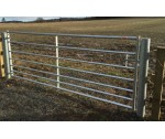 10' STANDARD 7 BAR METAL GATE GALV