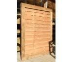 Panel Gate 4'0 x 3'0 Weston Brown