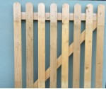 Nailed Wicket Gate .900 x .900 L/H
