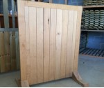 Oak side gate up to 1.8m x 0.9mw solid