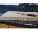 Ash Chopping Board 500 x 350 x 35mm
