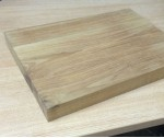 Oak Chopping Board 400mm x 300mm x 35mm