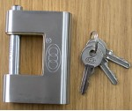 Stainless Steel Armoured Padlock (90mm)