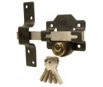 Long throw lock key lockable for 50mm fr