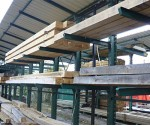 2.1m 100mm x 100mm Beam Oak