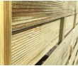 1.8m x 1.8m MILAN Panel Pressure Treated