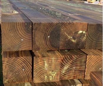 1.8m 100 x 100 Kiln Dried Pine Post