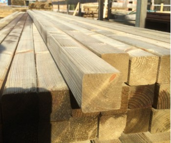 3.6m x 45mm x 45mm planed smooth batten