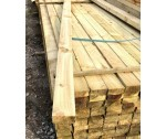 3.6m 38mm x 88mm fence rail treated