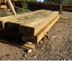 2.4m 100m x 200mm Softwood Sleeper