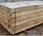 2.4m 130m x 220mm New Oak Sleeper