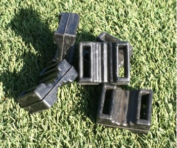 Rubber Block (25mm wide strapping)