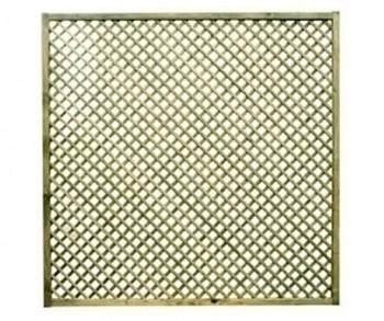 1.8m x 1.8m diamond lattice
