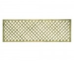 0.30m x 1.83m diamond lattice