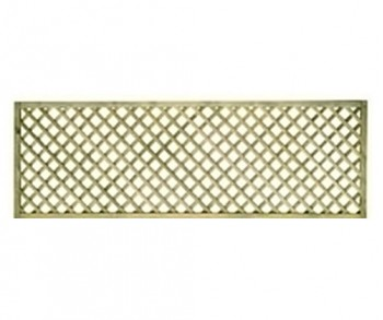 1.2m x 1.83m diamond lattice