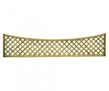 Concave diamond lattice 1.83m x 430>280