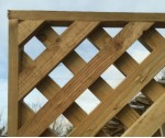 Sawn Diamond Trellis