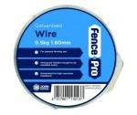 1.6 mm x 0.5 kg galv tying wire